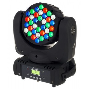 Moving Beam 36 Leds Cree - 5w RGBW
