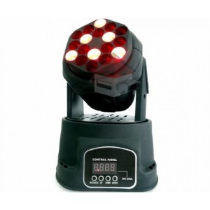 Moving Head Beam 18 Led Cree - 3w